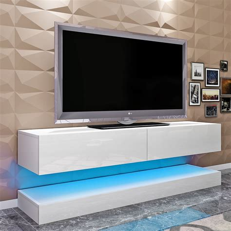 High Tv Stand For Living Room In Brown