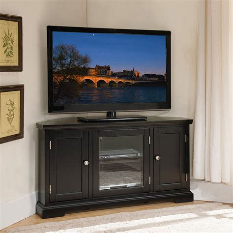 High Tv Stands With Wood Finish
