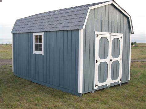 High-Wall-Barn-Shed-Plans