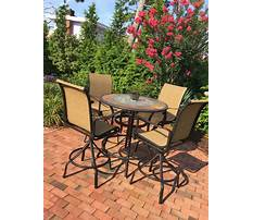 Best High top patio furniture sets