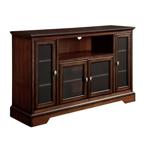 Highboy Tv Stand Brown