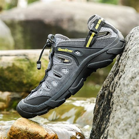 Hiking Shoes Mens Waterproof Trekking Climbing Sports Breathable Shoe Large Size