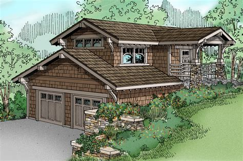 Hillside Garage Apartment Plans