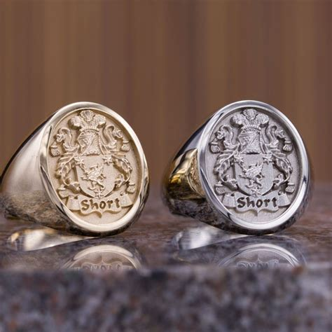 History of Family Crest Rings