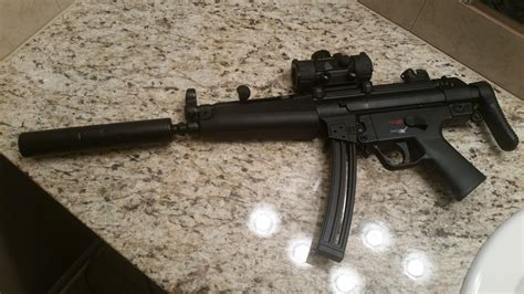 Hk Mp5 22lr Sights And How Much Is A Civilian Mp5