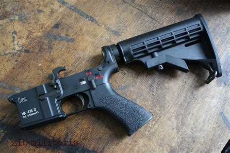 Hk416 Upper Fit On Ar Lower And Sirena Hk416
