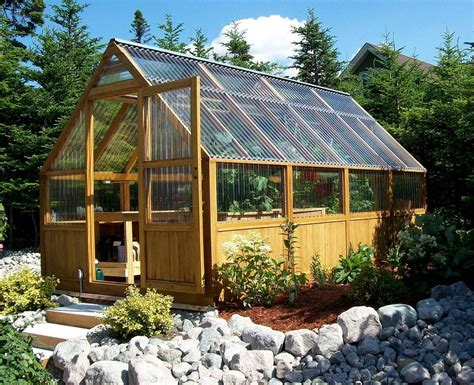 Hobby Greenhouse Plans Homemade