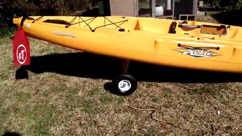 Hobie Kayak Cart Diy
