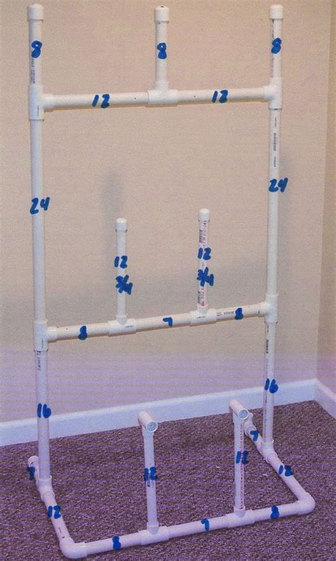 Hockey Equipment Drying Rack Plans Pvc