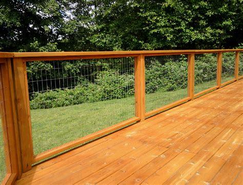 Hog-Wire-Deck-Railing-Plans