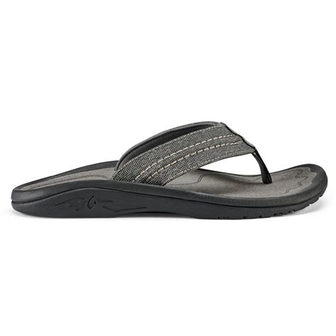Hokua Mesh Sandals - Men's Night Charcoal 12