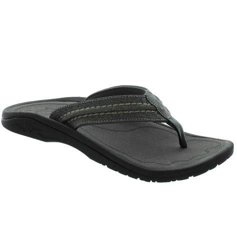 Hokua Mesh Sandals - Men's Night Charcoal 14