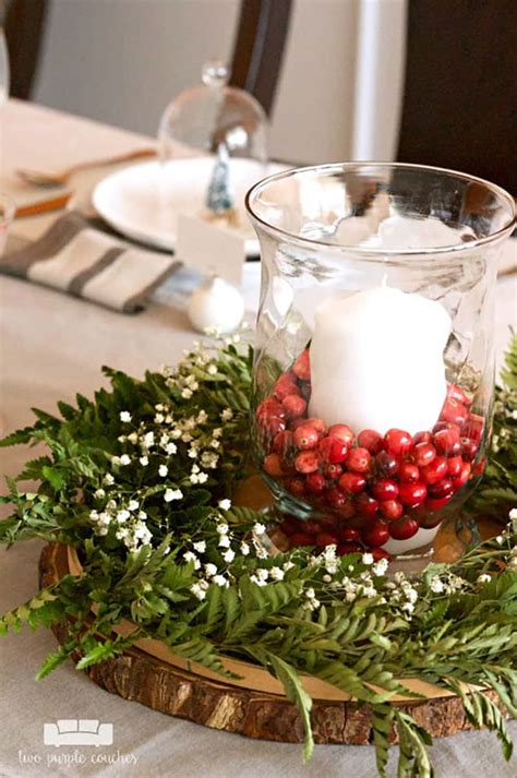 Holiday Table Decorations Diy Ideas