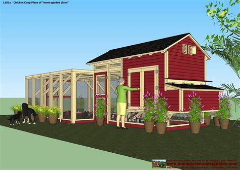 Home And Gardens Chicken Coop Plans