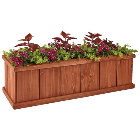 Home Depot Cedar Window Boxes