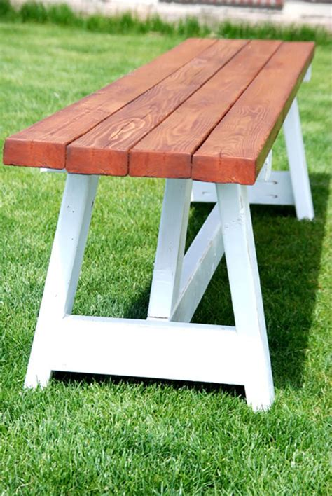 Home Depot Diy Farmhouse Bench