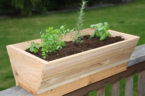 Home Depot Diy Planter Boxes With Railings
