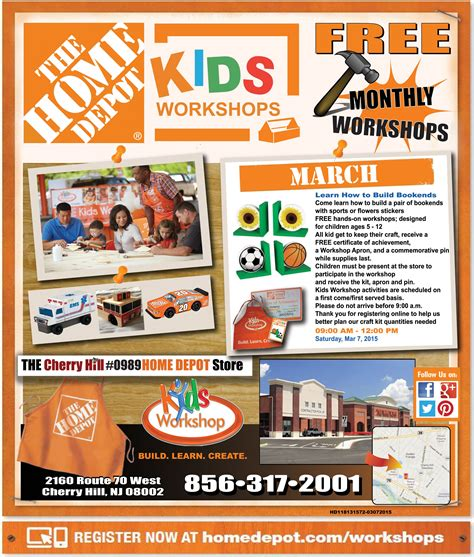 Home Depot Diy Workshop Schedule