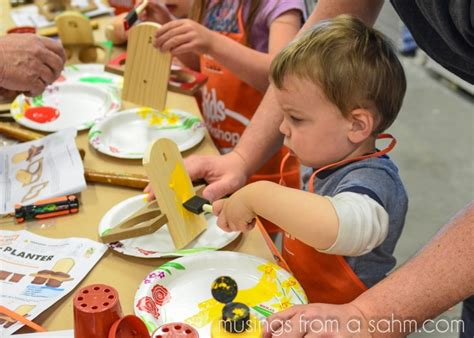 Home Depot Diy Workshops For Kids