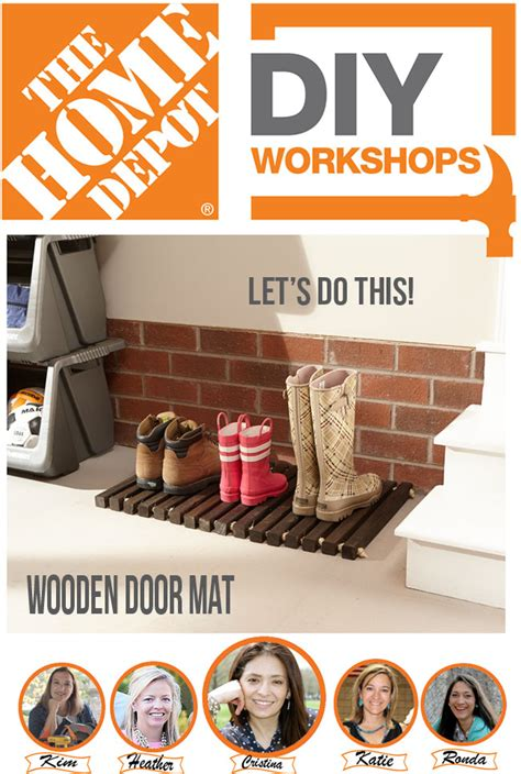 Home Depot Diy Workshops For Women