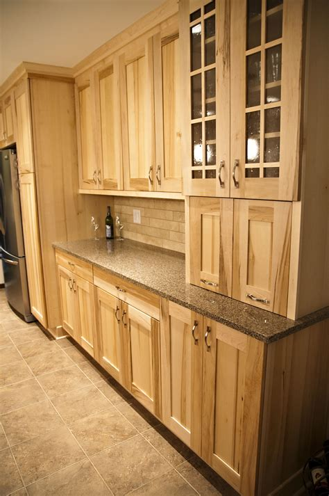 Home Depot Natural Maple Cabinets