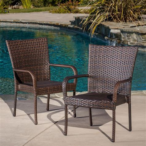 Home Depot Outdoor Wicker Dining Chairs