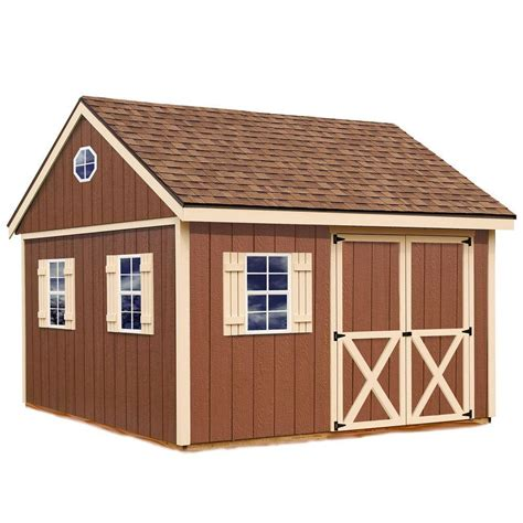 Home Depot Wood Storage Building