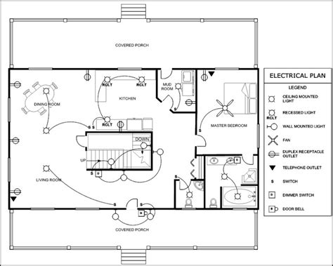 Home Electrical Plans Template