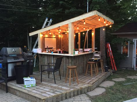 Home Hardware Outdoor Bar Plans