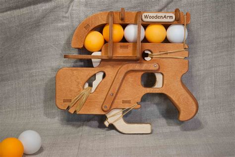 Home Made Wooden Ping Pong Gun Plans