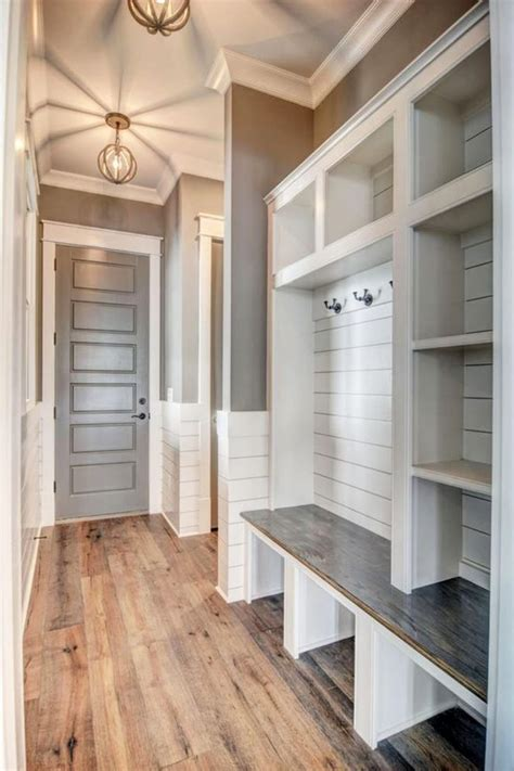 Home Plan With Mudroom