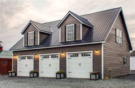 Home Plans 2 Stall Garage Kits