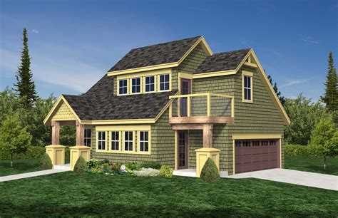 Home Plans Front Garage House