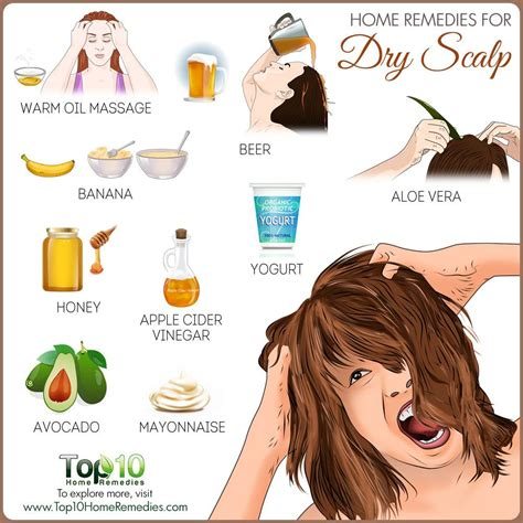 @ Home Remedies For Itchy Scalp  Top 10 Home Remedies.
