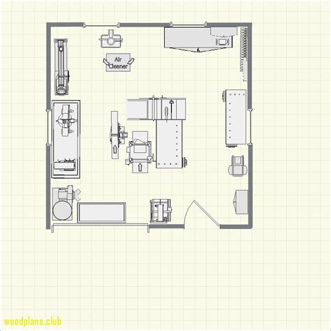 Home Woodworking Shop Floor Plans