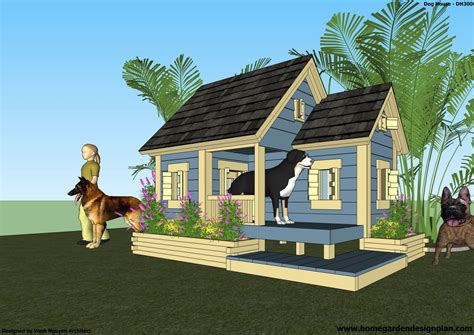 Home-And-Garden-Dog-House-Plans