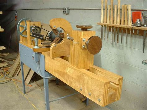 Home-Built-Wood-Lathe-Plans