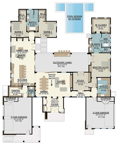 Home-Floor-Plans-With-Inlaw-Suite