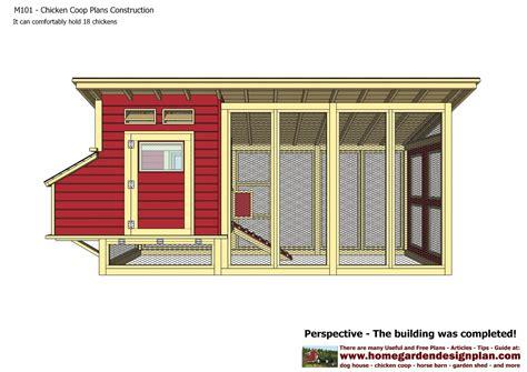 Home-Garden-Chicken-Coop-Plans