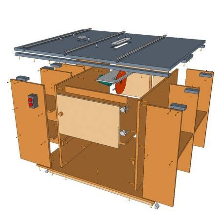 Home-Made-Table-Saw-And-Router-Table-Plans