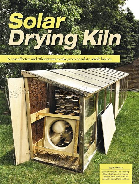 Home-Wood-Kiln-Plans
