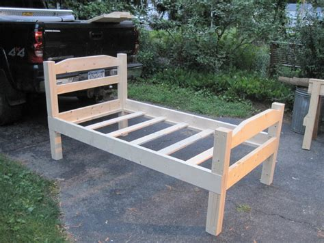 Homemade Bed Frames Plans Free Twin