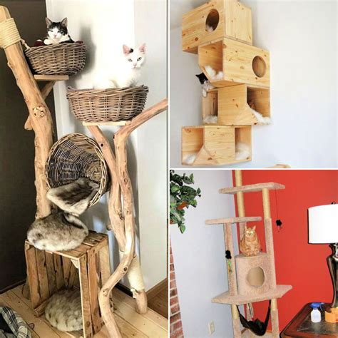 Homemade Cat Tree Plans