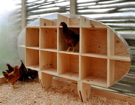 Homemade Chicken Nesting Boxes Plans