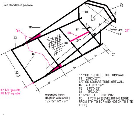 Homemade Climbing Tree Stand Plans