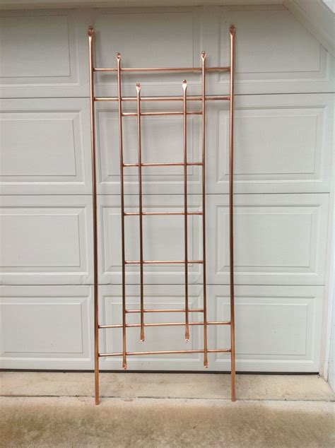 Homemade Copper Trellis Plans
