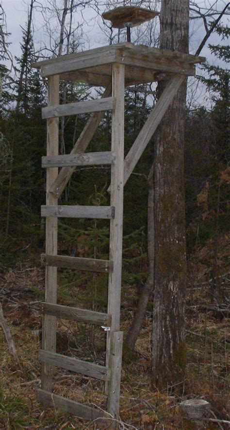 Homemade Deer Hunting Ladder Stand Plans