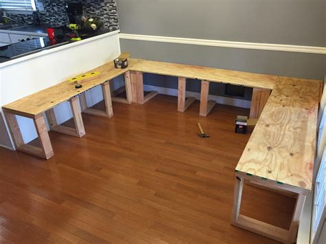 Homemade Dining Booth Plans