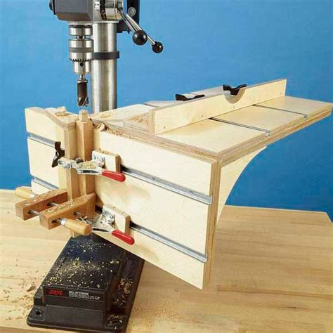 Homemade Drill Press Table Plans