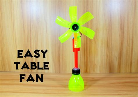 Homemade Electric Table Fan